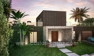 New modern villas for sale on the Costa del Sol, between Estepona and Casares 1