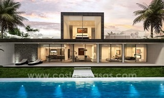 New modern villas for sale on the Costa del Sol, between Estepona and Casares 3