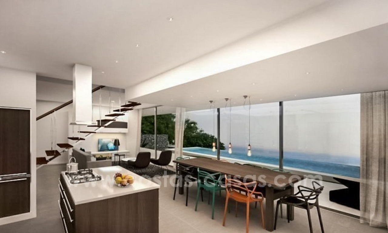 New modern villas for sale on the Costa del Sol, between Estepona and Casares 5