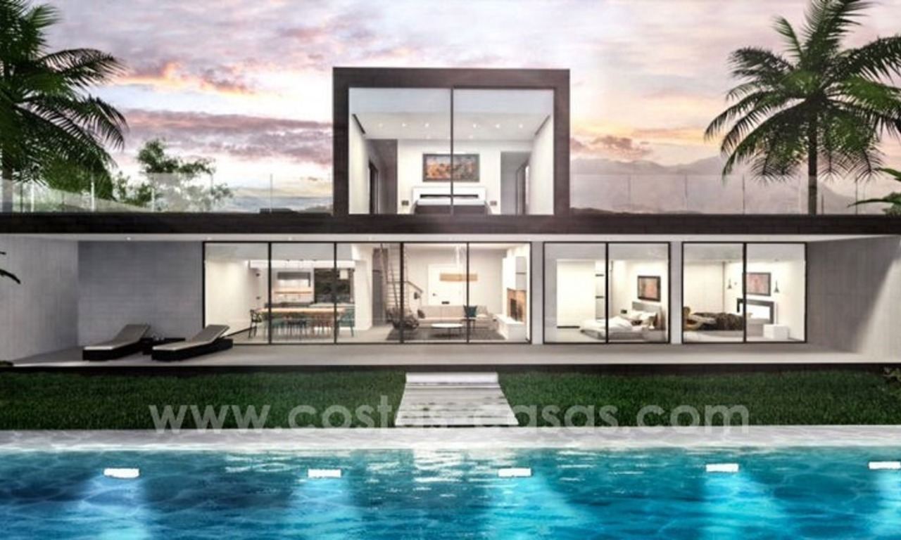 New modern villas for sale on the Costa del Sol, between Estepona and Casares 4
