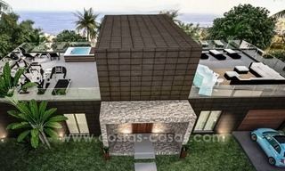 New modern villas for sale on the Costa del Sol, between Estepona and Casares 0