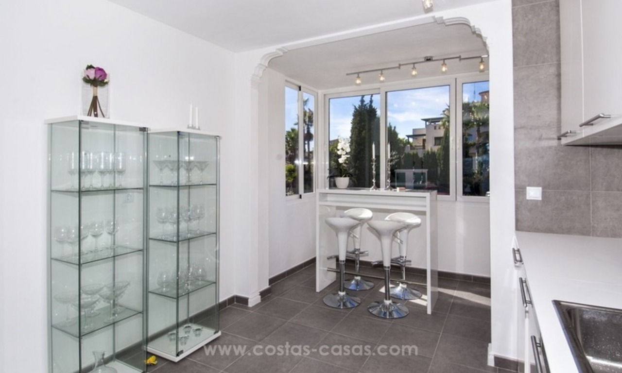 Spacious apartment for sale in a great location in Nueva Andalucia in Marbella, close to Puerto Banus 8