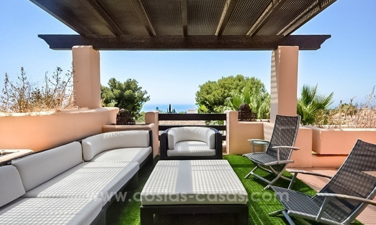 Excellent penthouse for sale on the Golden Mile, Marbella 1