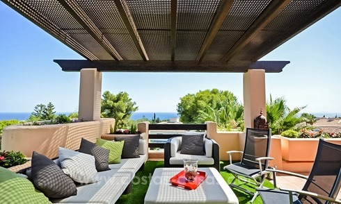 Excellent penthouse for sale on the Golden Mile, Marbella