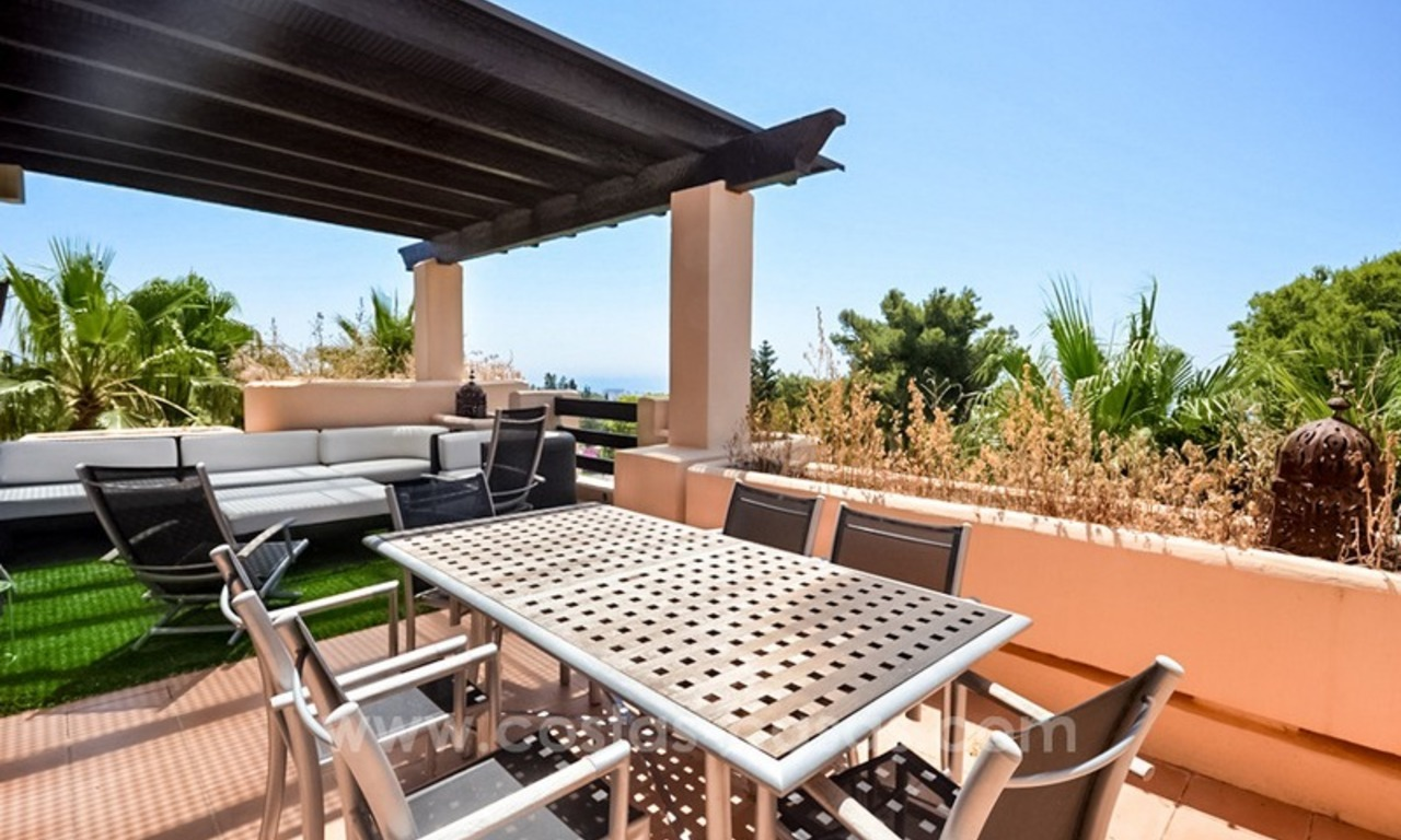Excellent penthouse for sale on the Golden Mile, Marbella 2