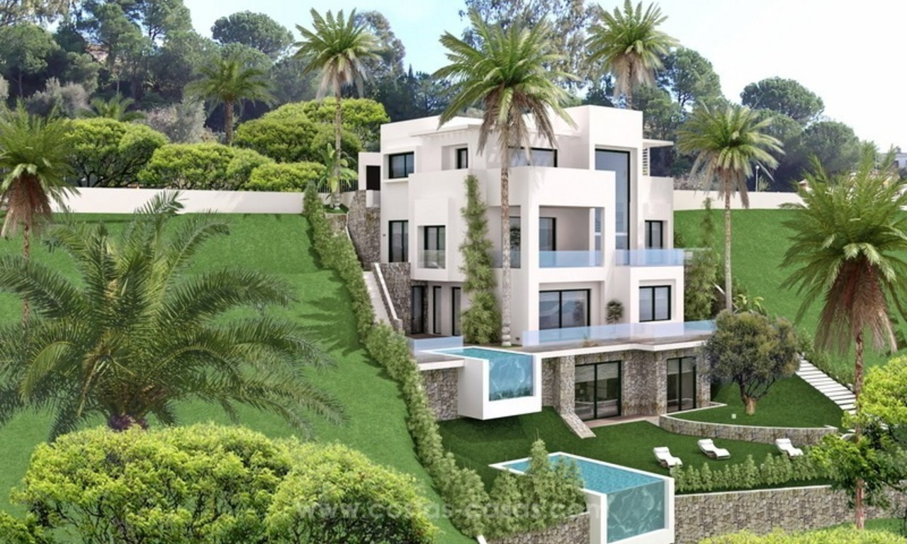 Brand new modern villa for sale East of Marbella 5