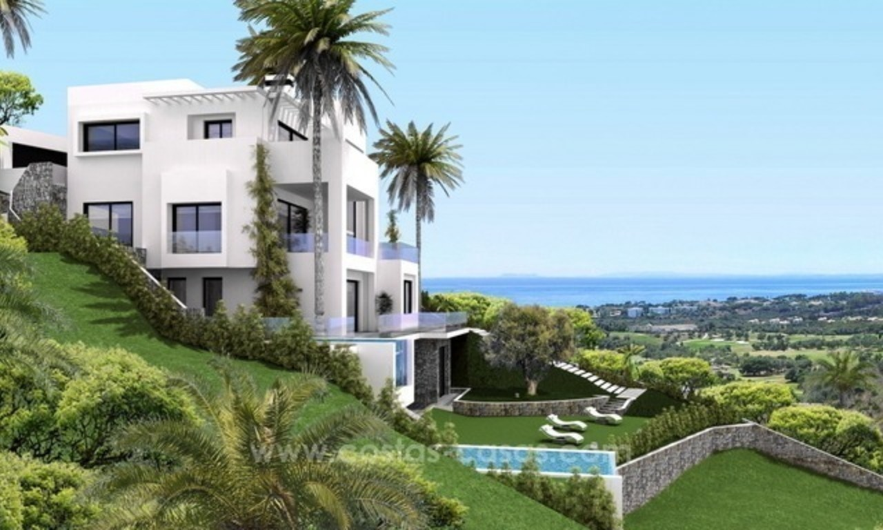 Brand new modern villa for sale East of Marbella 6