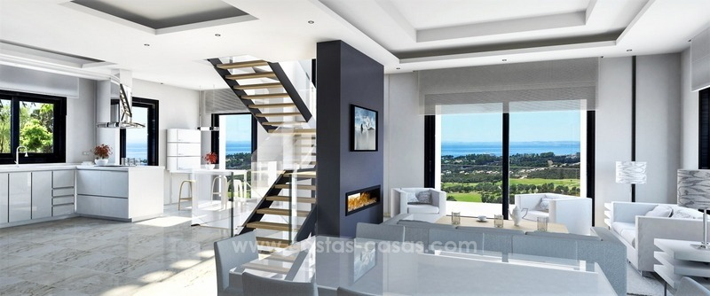 Brand new modern villa for sale East of Marbella