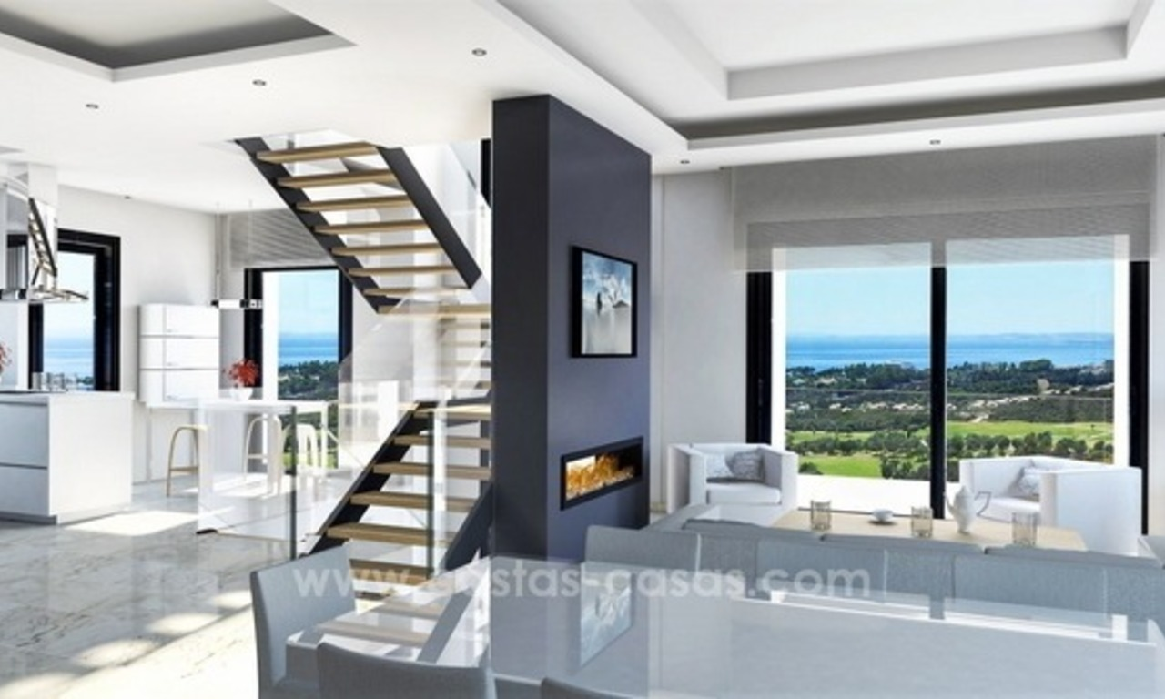 Brand new modern villa for sale East of Marbella 0