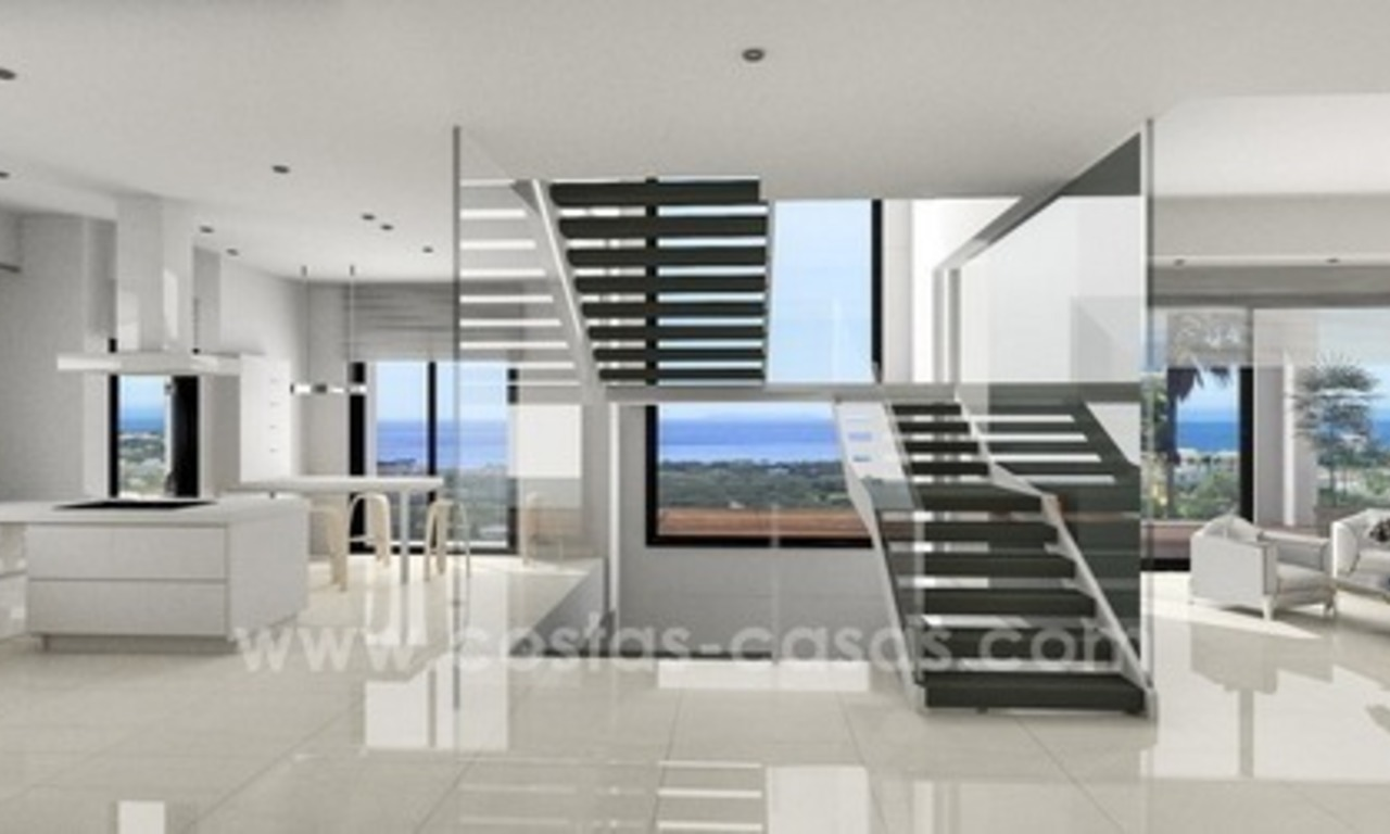 Brand new modern villa for sale East of Marbella 1