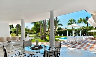 Stylish villa in perfect condition for sale on the Golden Mile, Marbella 0