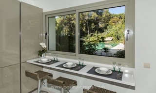 New frontline golf contemporary luxury villa for sale in East Marbella 25
