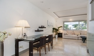New frontline golf contemporary luxury villa for sale in East Marbella 17