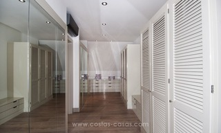 New frontline golf contemporary luxury villa for sale in East Marbella 28