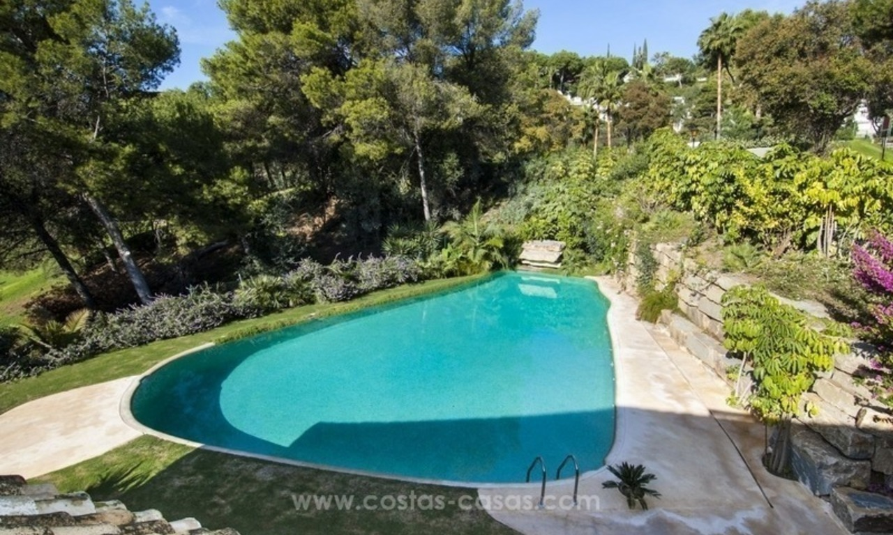 New frontline golf contemporary luxury villa for sale in East Marbella 5