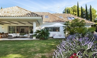 New frontline golf contemporary luxury villa for sale in East Marbella 9