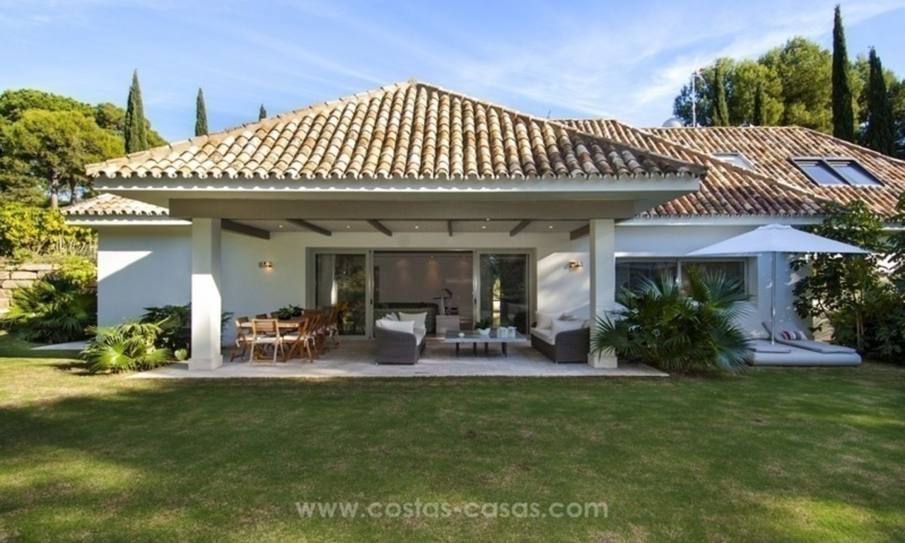 New frontline golf contemporary luxury villa for sale in East Marbella 10