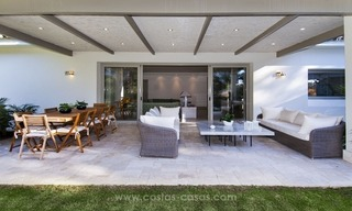New frontline golf contemporary luxury villa for sale in East Marbella 11