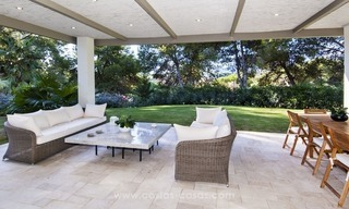 New frontline golf contemporary luxury villa for sale in East Marbella 13