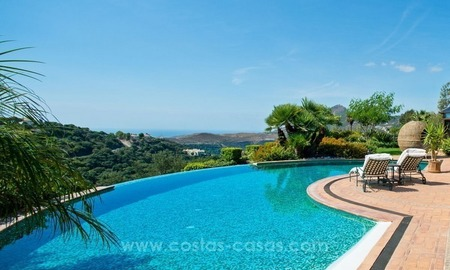 Beautiful Villa with sea view for Sale, La Zagaleta in Benahavis