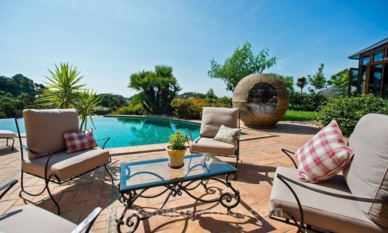 Beautiful Villa with sea view for Sale, La Zagaleta in Benahavis 7