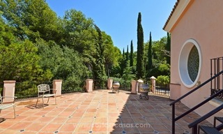 Luxury villa for sale, front line golf, in Marbella East 29
