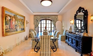 Luxury villa for sale, front line golf, in Marbella East 20