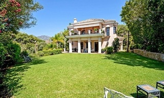 Luxury villa for sale, front line golf, in Marbella East 8