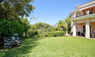 Luxury villa for sale, front line golf, in Marbella East 9