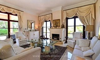 Luxury villa for sale, front line golf, in Marbella East 17