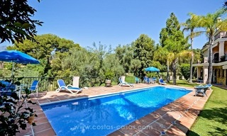 Luxury villa for sale, front line golf, in Marbella East 2