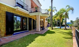 Luxury villa for sale, front line golf, in Marbella East 4