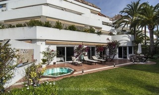 Spacious ground floor apartment for sale on The Golden Mile, Marbella 1