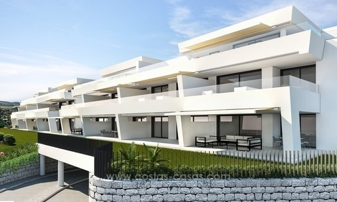Ready to move in. New Modern Apartments for sale in Nueva Andalucia, Marbella