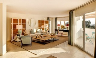 Project of new bargain 2, 3 and 4 bedrooms apartments for sale in Nueva Andalucía, Marbella 2