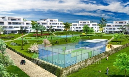 Modern, luxury, New Apartments for sale in Benahavis, Marbella