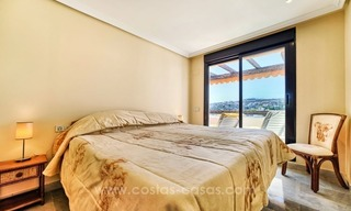 Luxury top floor apartment for sale in Benahavis, Marbella 12