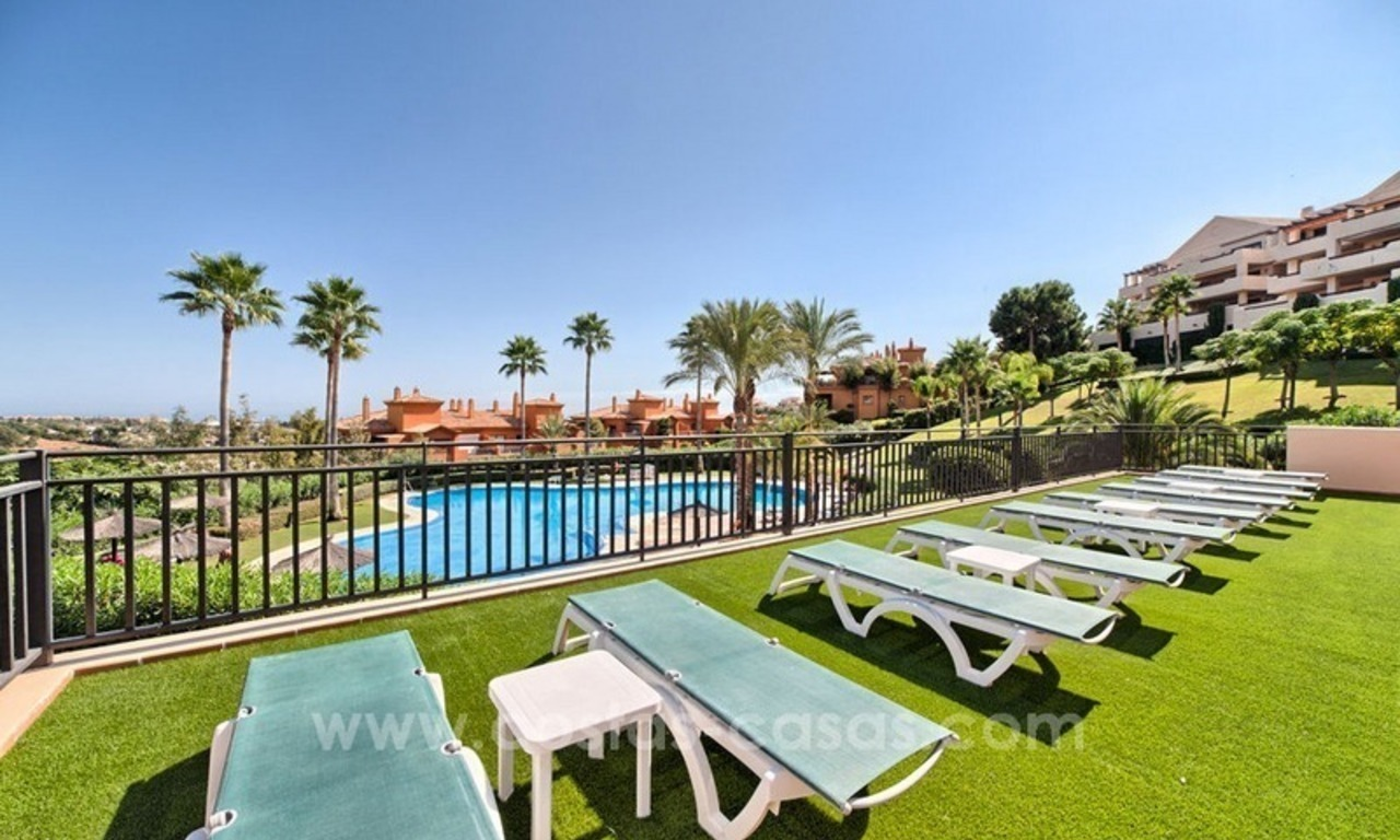 Luxury top floor apartment for sale in Benahavis, Marbella 2