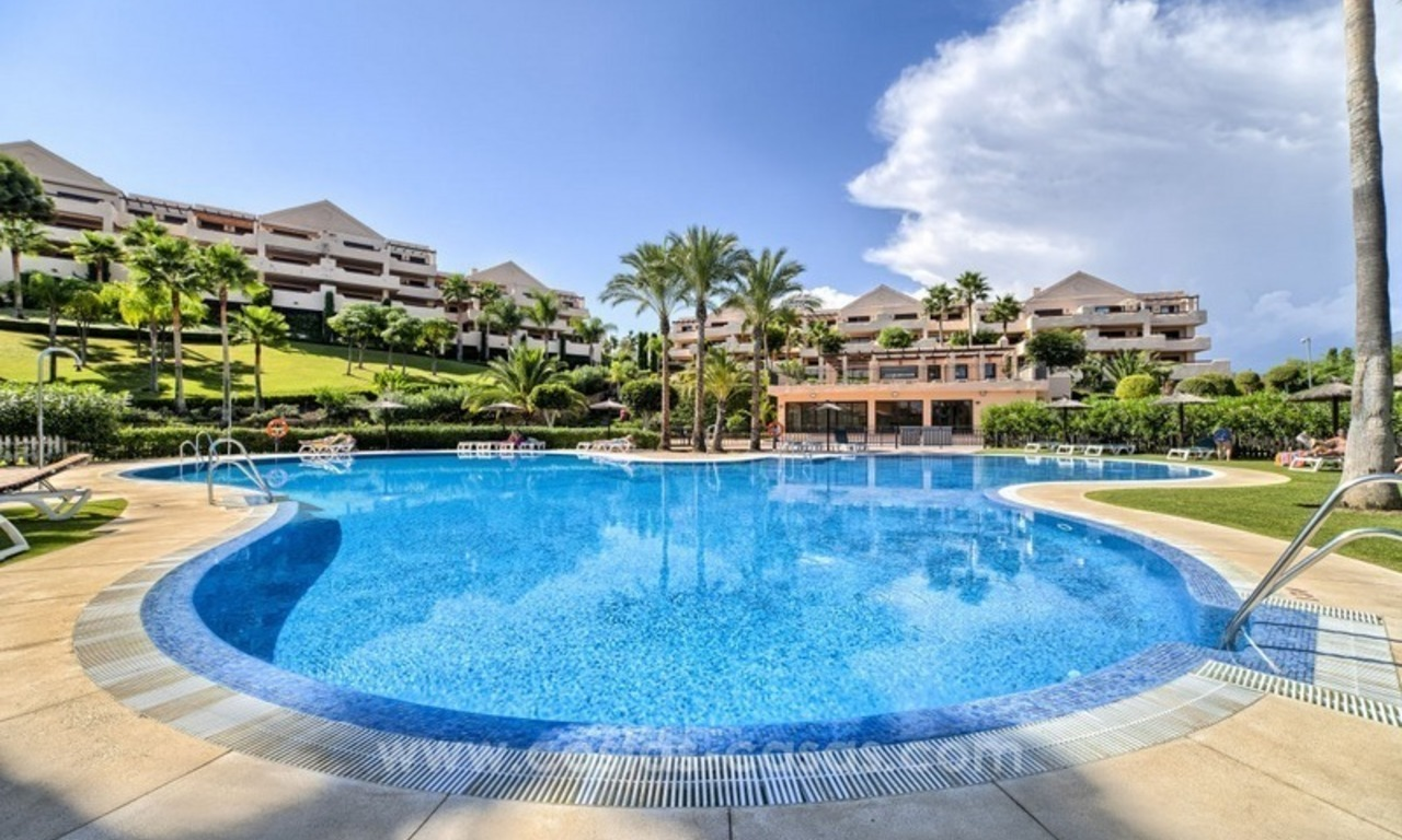 Luxury top floor apartment for sale in Benahavis, Marbella 0