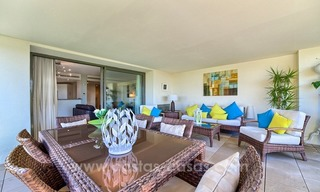 Modern luxury frontline golf ground floor apartment in a 5-star golf resort for sale in Benahavis - Marbella 3