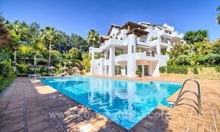 Apartment in a frontline beach complex for sale on the New Golden Mile, Estepona 0