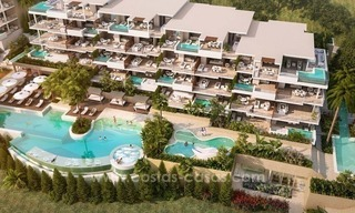 For sale in Mijas, Costa del Sol: New luxury modern villas in a resort 4