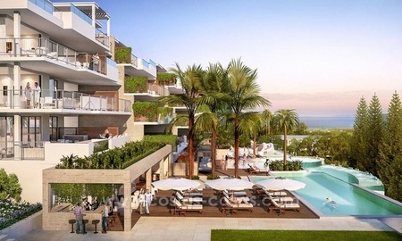 For sale in Mijas, Costa del Sol: New luxury modern villas in a resort 3