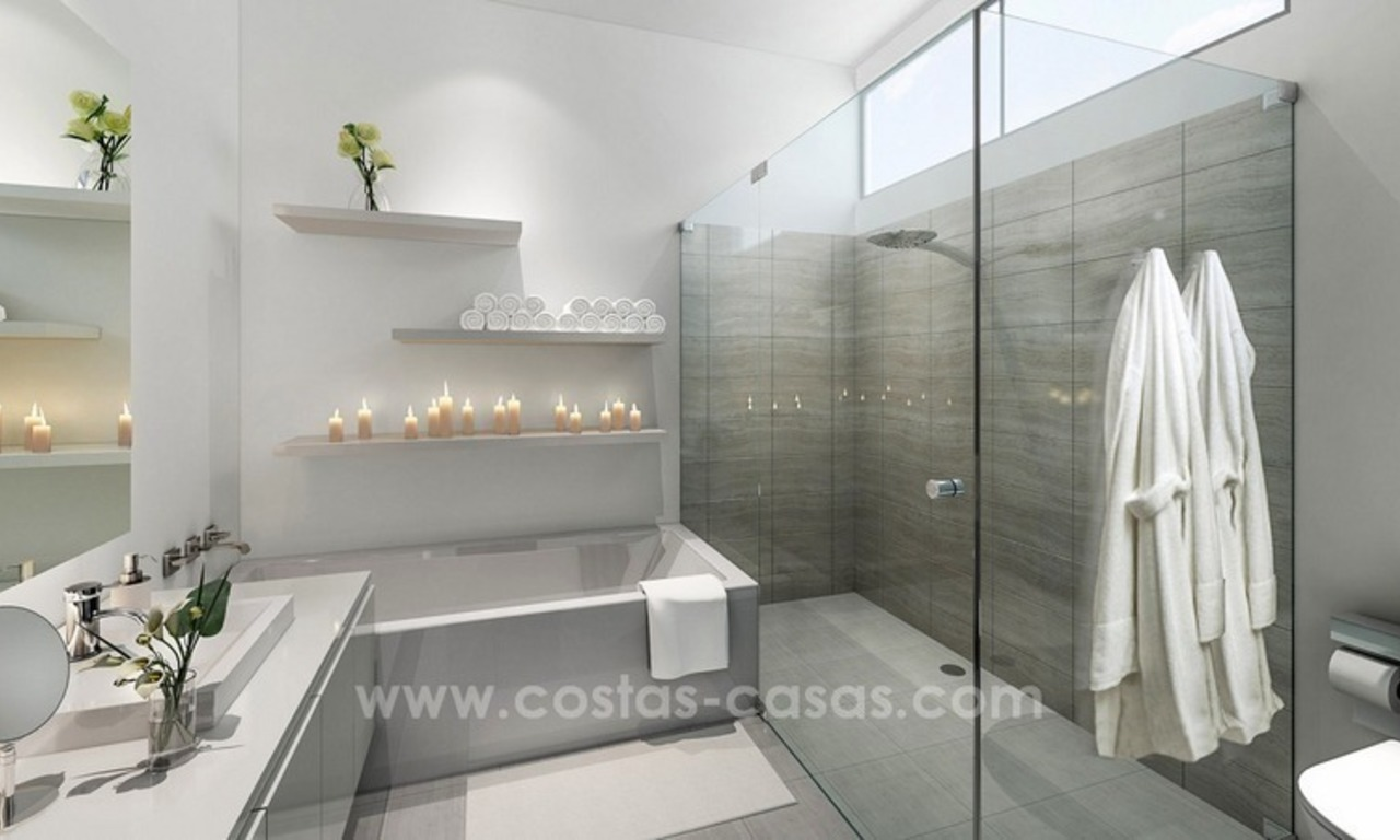 For sale in Mijas, Costa del Sol: New luxury modern villas in a resort 10