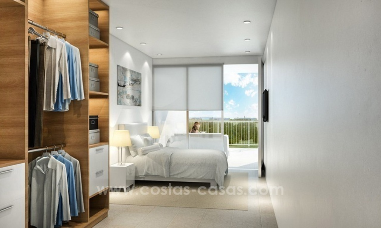 For sale in Mijas, Costa del Sol: New luxury modern villas in a resort 11