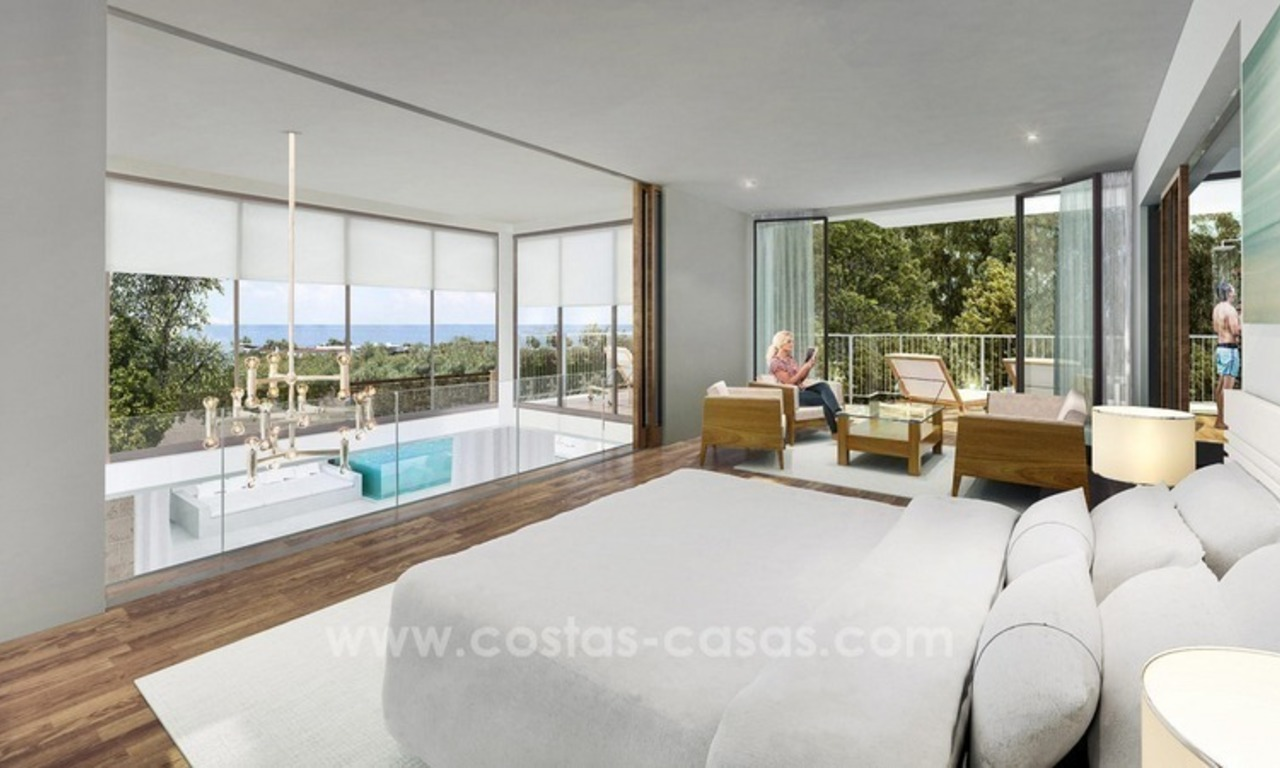 For sale in Mijas, Costa del Sol: New luxury modern villas in a resort 2