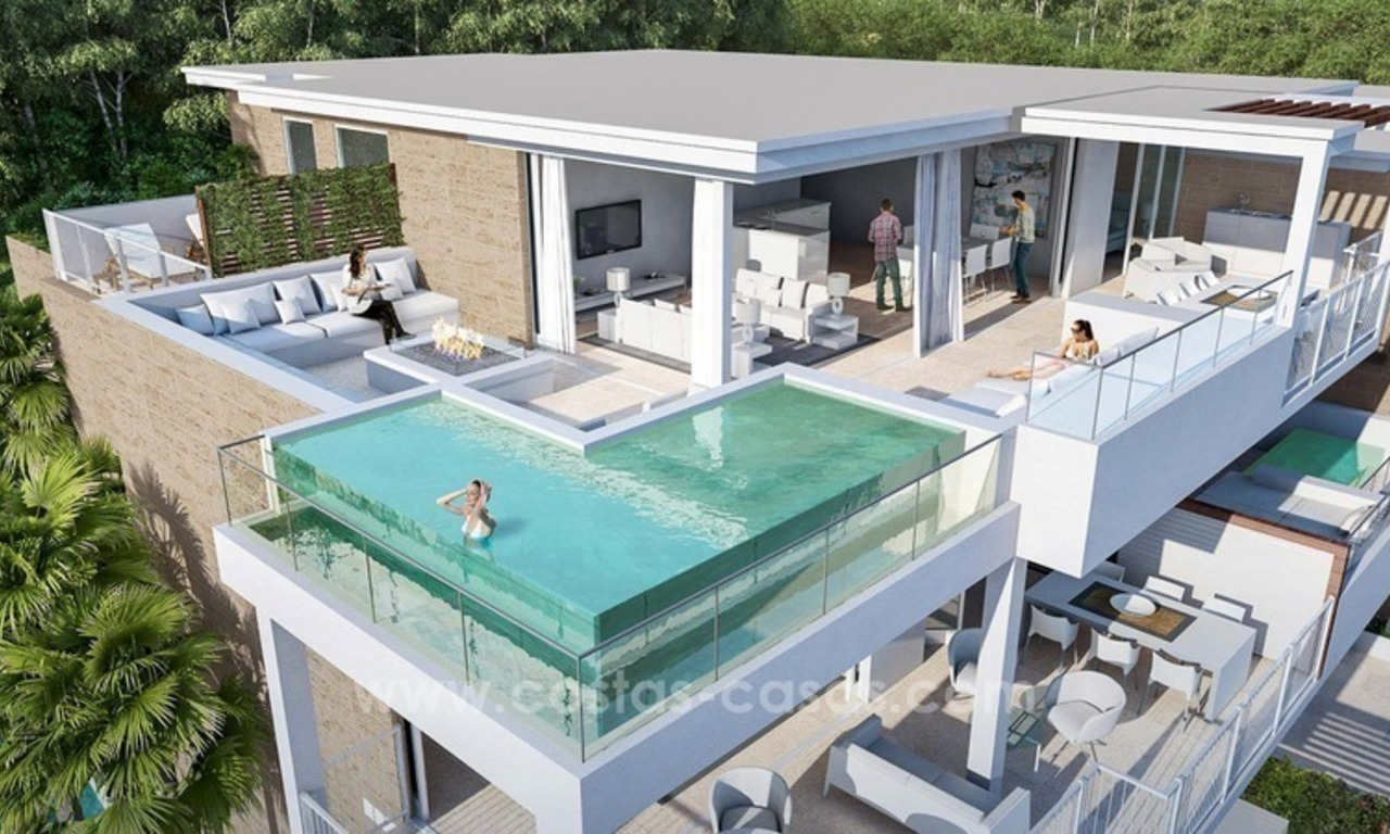 For sale in Mijas, Costa del Sol: New luxury modern villas in a resort 6