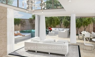 For sale in Mijas, Costa del Sol: New luxury modern villas in a resort 1