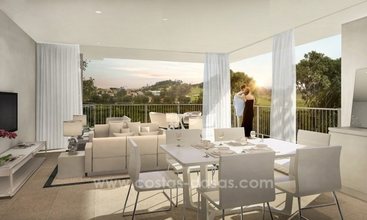 New luxury modern apartments and villas for sale in Mijas, Costa del Sol 2