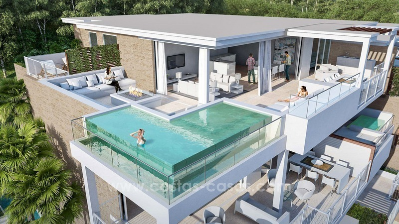 New Luxury Modern Apartments And Villas For Sale In Mijas, Costa Del Sol